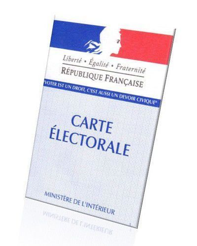 Inscriptions sur la liste électorale